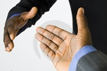 Black Male Handshake