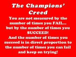 Champion Creed